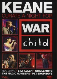 Cover Keane - Curate A Night For War Child [DVD]